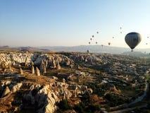 Het landschap van Cappadocia Stock Afbeeldingen