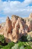 Het landschap van Cappadocia Stock Fotografie