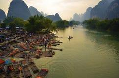 Het Landschap van China Guilin royalty-vrije stock foto's