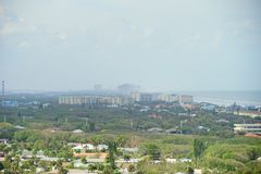 Het landschap van Daytona Beach Royalty-vrije Stock Foto's
