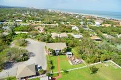 Het landschap van Daytona Beach Stock Afbeelding