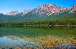 Het landschap van de aard in Brits Colombia, Canada royalty-vrije stock afbeelding