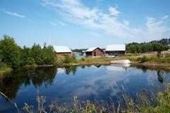 Het landschap van de archipel Royalty-vrije Stock Afbeelding