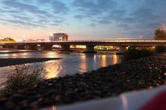 Het landschap van de avond Royalty-vrije Stock Fotografie