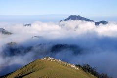 Het landschap van de berg. stock afbeelding