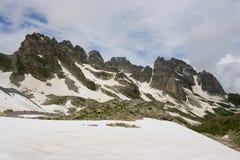 Het landschap van de berg. Royalty-vrije Stock Afbeelding