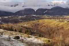 Het landschap van de berg Stock Fotografie