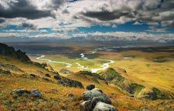 Het landschap van de berg Stock Afbeeldingen
