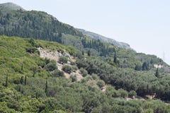 Het landschap van de berg Stock Foto