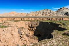 Het landschap van de berg canion Royalty-vrije Stock Foto's