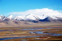 Het landschap van de berg in China Stock Fotografie