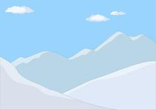 Het landschap van de berg in dag Royalty-vrije Stock Foto's