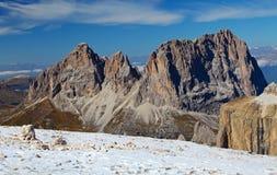 Het landschap van de berg in de berg van Italië Stock Afbeelding