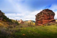 Het landschap van de berg guadalajara Stock Afbeeldingen