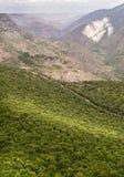 Het landschap van de berg Het landschap in Armenië (Tatev) Royalty-vrije Stock Foto