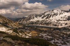 Het landschap van de berg Hoge Tatras Stock Fotografie