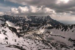 Het landschap van de berg Hoge Tatras Royalty-vrije Stock Afbeelding