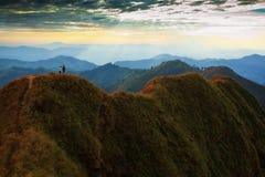 Het landschap van de berg in Kao Chang Puek Royalty-vrije Illustratie