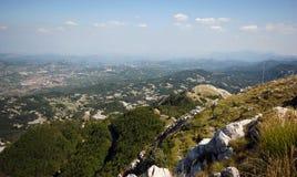 Het landschap van de berg in Montenegro Royalty-vrije Stock Afbeeldingen