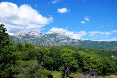 Het landschap van de berg in Montenegro royalty-vrije stock afbeelding