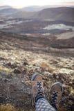 Het landschap van de berg, Nieuw Zeeland Stock Fotografie