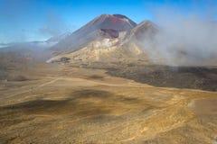 Het landschap van de berg, Nieuw Zeeland Stock Afbeelding