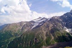 Het landschap van de berg op een zonnige dag Stock Afbeelding