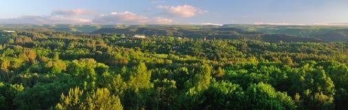 Het landschap van de berg Panarama Royalty-vrije Stock Foto's