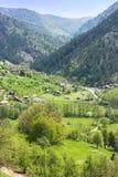 Het landschap van de berg, platteland Stock Afbeelding