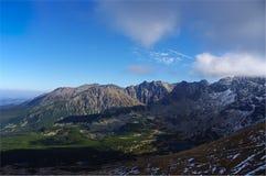 Het landschap van de berg Tatry polen Royalty-vrije Stock Afbeelding