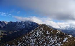 Het landschap van de berg Tatry polen Royalty-vrije Stock Afbeeldingen