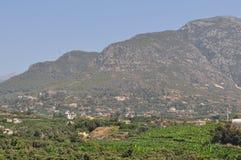 Het landschap van de berg toevlucht van Turkije Royalty-vrije Stock Afbeelding