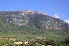 Het landschap van de berg. Turkije Stock Fotografie
