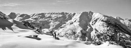 Het Landschap van de Berg van Colorado Royalty-vrije Stock Afbeelding