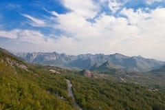 Het Landschap van de Berg van de zomer Stock Fotografie