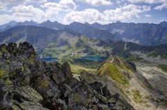 Het landschap van de Bergen van Tatra Royalty-vrije Stock Afbeelding