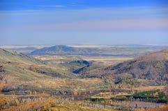 Het landschap van de bergherfst Royalty-vrije Stock Afbeelding