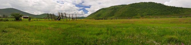 Het landschap van de Boerderij van de Shangri-La Royalty-vrije Stock Foto's
