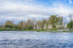 Het Landschap van de boogrivier Royalty-vrije Stock Foto