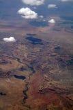Het landschap van de canion Stock Afbeelding