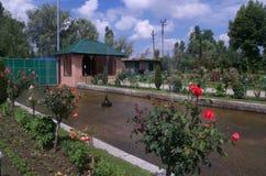 Het Landschap van de Chashmeshahituin in Srinagar-3 Stock Afbeelding
