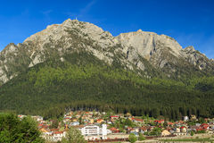 Het landschap van de de lenteberg, Bucegi-berg, de Karpaten, Roemenië Stock Fotografie