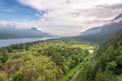 Het Landschap van de de Rivierkloof van Colombia royalty-vrije stock foto