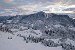 Het landschap van de de winterberg Royalty-vrije Stock Fotografie