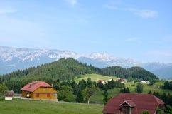 Het landschap van de de zomerberg Stock Foto