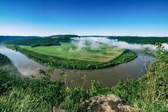 Het landschap van de Dnisterrivier Royalty-vrije Stock Foto