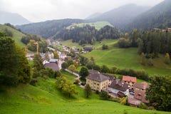 Het landschap van de dolomietberg Stock Foto
