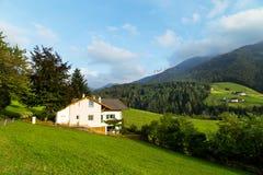 Het landschap van de dolomietberg Stock Afbeeldingen
