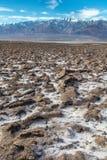 Het landschap van de doodsvallei royalty-vrije stock foto