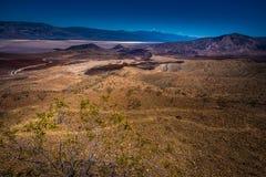 Het Landschap van de doodsvallei van Vader Clowley Point Royalty-vrije Stock Foto's